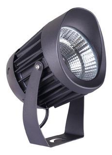 Lampara Sobreponer En Piso Exterior Estaca Negro 10w 10hled7