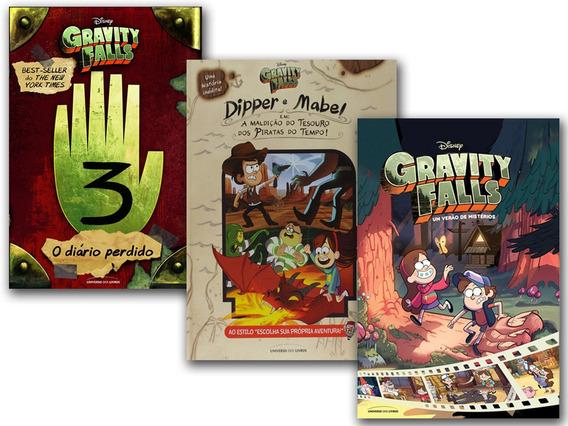 Gravity Falls A Maldição Do Tesouro+ Diário 3+ Verão De Mist