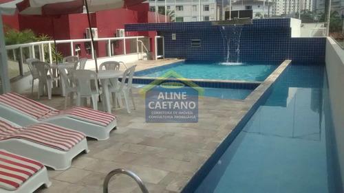 Apartamento Com 2 Dorms, Canto Do Forte, Praia Grande - R$ 270 Mil, Cod: Ant4785 - Vant4785
