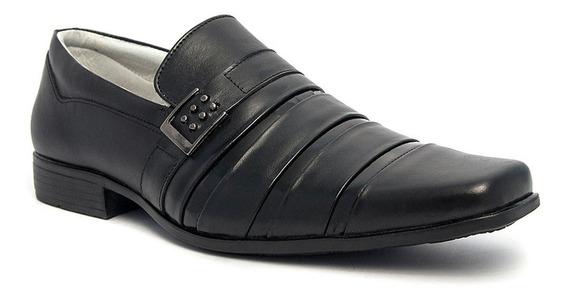 Sapato Social Masculino Pé De Ferro Em Couro Legítimo 70