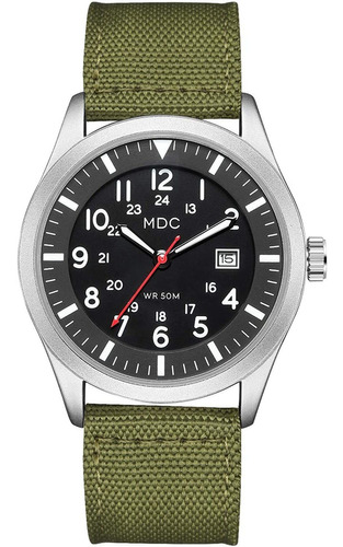 Reloj De Pulsera Analógico Militar Para Hombre, Ejército Tác