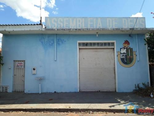 Imagem 1 de 5 de Aluga-se - Salão Comercial - Vila Angélica - Presidente Prudente Sp - 1027