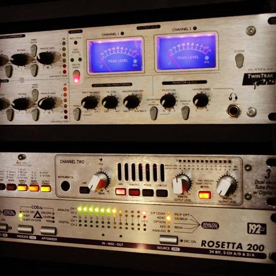Preamp Dbx 386 Valvulado