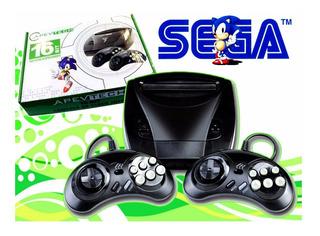 Consola Juegos Sega Apevtech Retro 2 Joystick 16 Bits 7 Jue