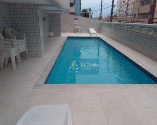 Imagem 1 de 21 de Apartamento Com 2 Dormitórios À Venda, 112 M² Por R$ 380.000 - Vila Guilhermina - Praia Grande/sp - Ap0273
