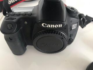Camara Canon Eos 60d Profesional Y Lentes-estuches Completo