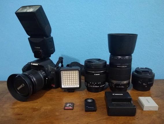 Kit Fotografia Câmera E Acessórios