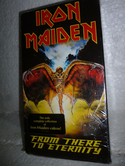 Vhs Iron Maiden - From There To Eternity 1992 Usa