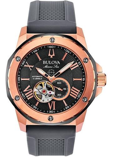 Relógio Masculino Bulova Automático 98a228 Nf-e