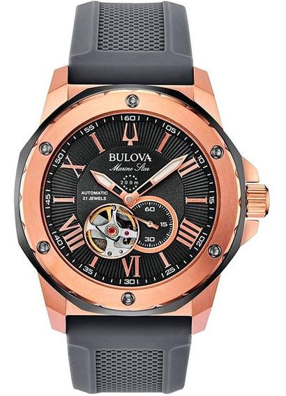 Relógio Masculino Bulova Cronógrafo 98a228 Original Garantia