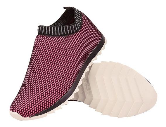 Tênis Calce Fácil Sem Cadarço Feminino Confortável Caminhada
