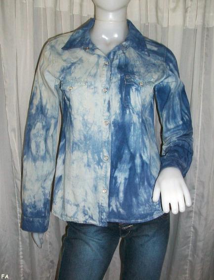 Camisa De Jean. Excelente Estado!!! Vivimar7
