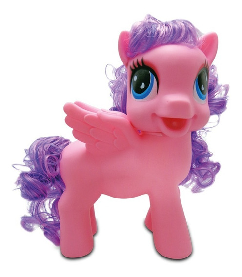 Muñeca Little Pony Rosa Flow C/melodias Magicas Luces Sonido