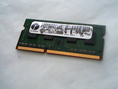 Teikon Ddr3 Kit Com 2 Memorias De  2gb 1rx8tmt325s6efr8-pbhj