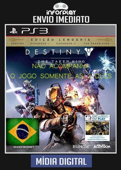 Destiny The Taken King Expanções Pt-br Ps3 Psn Envio Rápido