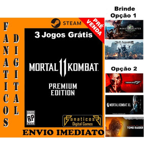 Off- Mortal Kombat 11 Premium Edition Pc Original Steam