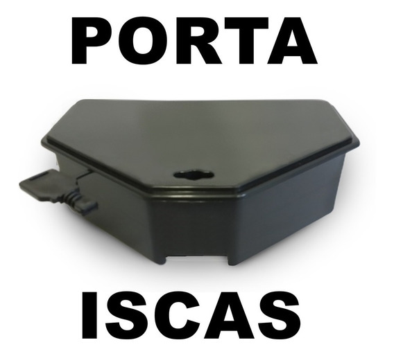 16 Porta Iscas Para Veneno Raticida Mata Ratos (ratoeira)