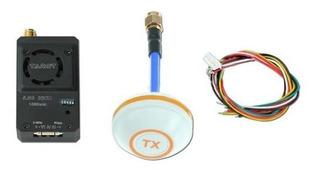 Transmisor Fpv 5.8 Ghz 1000mw + Receptor + Antenas 14db Drone