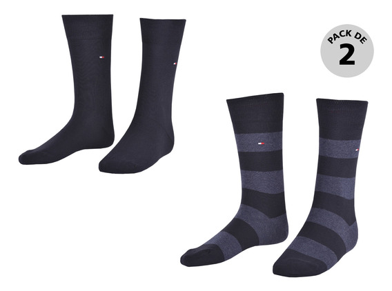 Calcetines Tommy Hilfiger Negro 342029001-200 Hombre