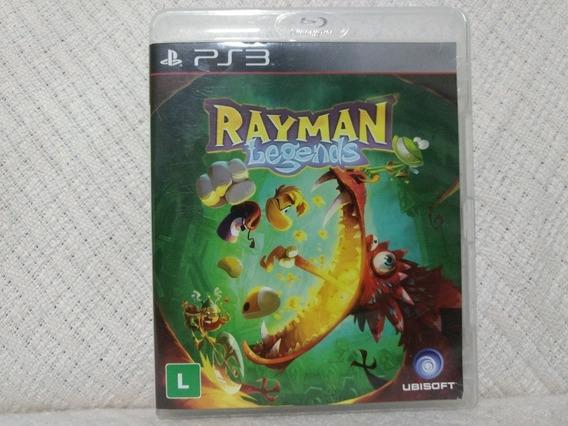Jogo Ps3 Rayman Legends Mídia Física Original