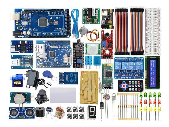 Kit Robótico Master Mega 2560 Ethernet Wifi Automação V.2020