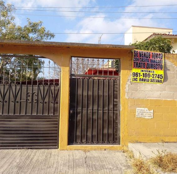 Casa De 2 Recamaras, Excelente Ubicacion Y Gran Terreno