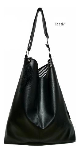 Bolso Mujer Dama Emma Bags Modelo Zaamba Interior De Lujo