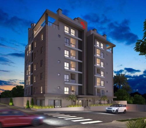 Apartamento Com 3 Dormitórios À Venda, 159 M² - Jardim Carvalho - Ponta Grossa/pr - Ap0312