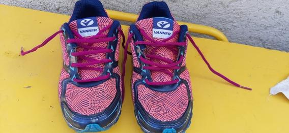 Zapatillas De Mujer Vanner Running Talle 38