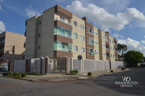 Apartamento Com 3 Dormitórios À Venda, 83 M² Por R$ 330.000,00 - São Pedro - São José Dos Pinhais/pr - Ap0692
