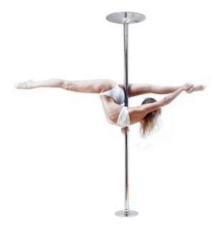 Tubo Pole Dance Portatil Giratorio Ejercicio Desmontabl 45mm