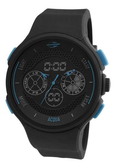 Relógio Masculino Mormaii Acqua Mo160323al/8a 47mm Preto