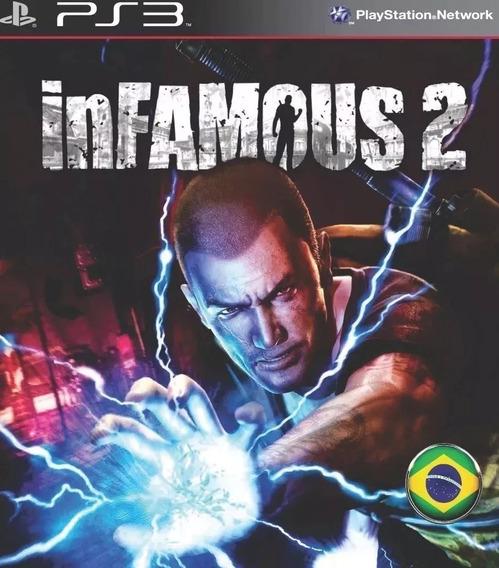 Infamous 2 - Português - Psn Ps3 - Envio Imediato Original