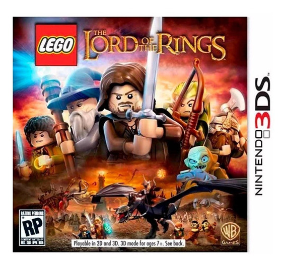 Lego Lord Of The Rings Nintendo 3ds Novo Lacrado