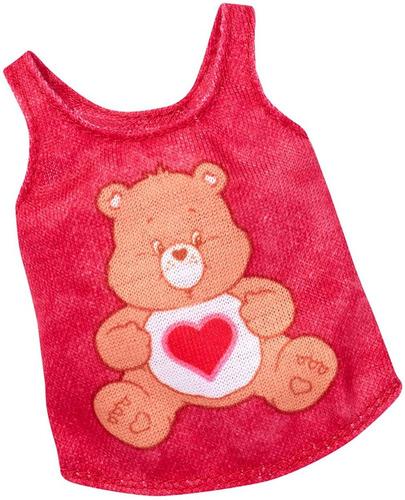 Imagem 1 de 2 de Fashion Boneca Barbie Ursinhos Carinhosos Care Bears Blusa