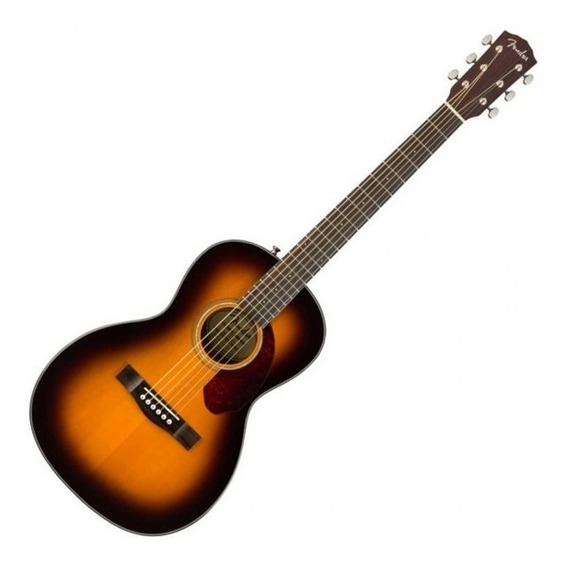 Guitarra Electroacustica Fender Cp-140se Parlor Sunburst