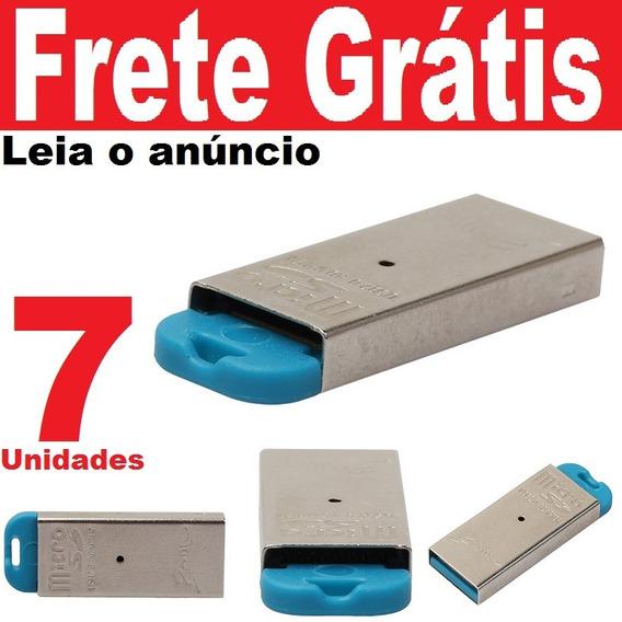 07und Leitor Usb Cartão Micro Sd Classe 10 Ou 4 Adaptador