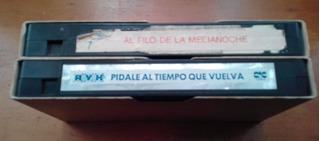 2 Vhs Al Filo De La Medianoche Y Pidale Al Tiempo Que Vuelva