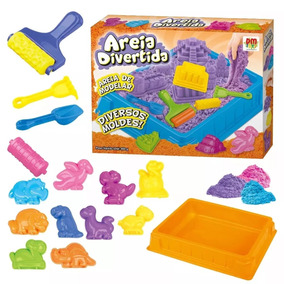 99920645cd Areia Divertida - Brinquedos e Hobbies no Mercado Livre Brasil