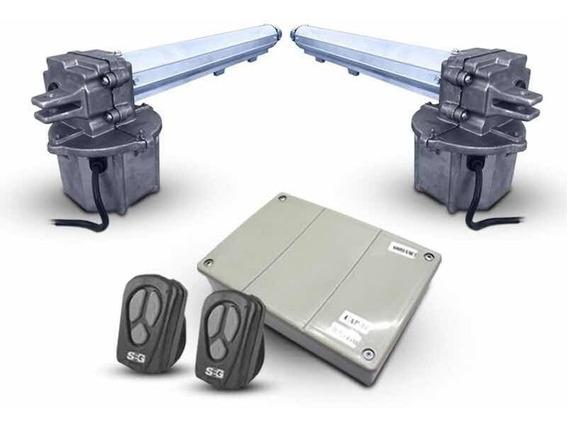 Motor Porton Pivotante Seg Rapido 2 Hojas Batiente Doble 4m.