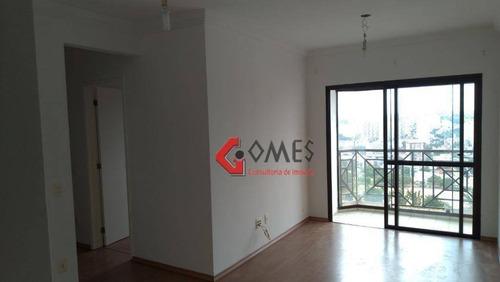 Apartamento À Venda, 68 M² Por R$ 355.000,00 - Vila Euclides - São Bernardo Do Campo/sp - Ap2866