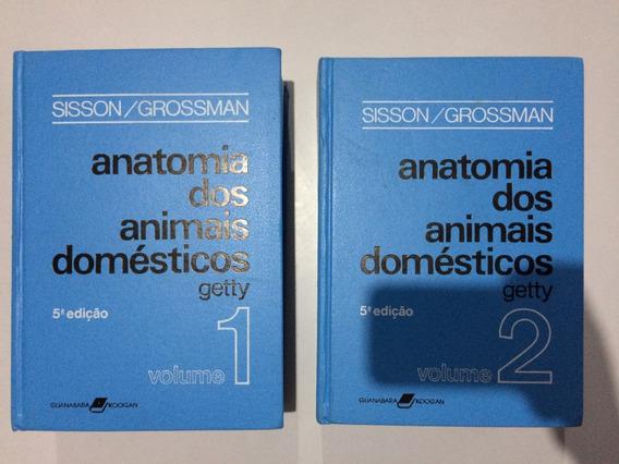 Livros Anatomia Dos Animais Domésticos Vol. 1 E 2 Getty