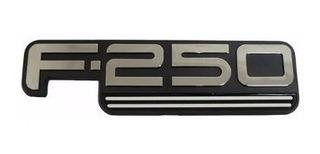 Emblema F250 Sublinhado Cromado - Modelo Original