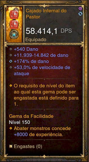Item Especial (fase Secreta 1) Diablo 3 *normal* Xbox One