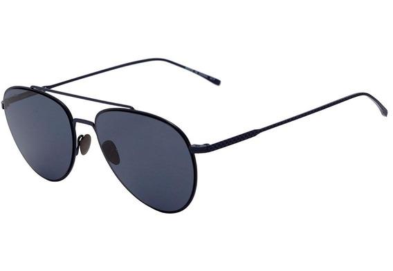Lacoste L 195 S - Óculos De Sol 424 Azul Fosco/ Azul