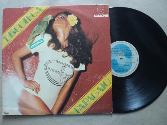 Lp Discoteca Papagaio Disco Club- C/ Vários 1978 Frete 15,00