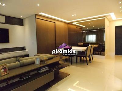 Apartamento Com 3 Dormitórios À Venda, 143 M² Por R$ 960.000 - Jardim Aquarius - São José Dos Campos/sp - Ap10367
