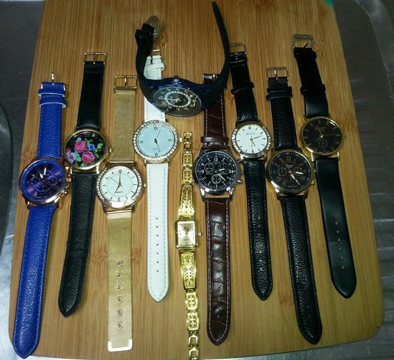 Relógios Multimarcas - Lote Com 10