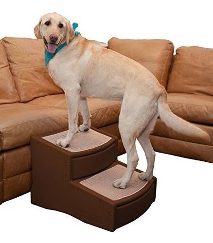 Imagen 1 de 2 de Pet Gear Easy Step Ii Extra Wide Pet Stairs 2step Para Gatos