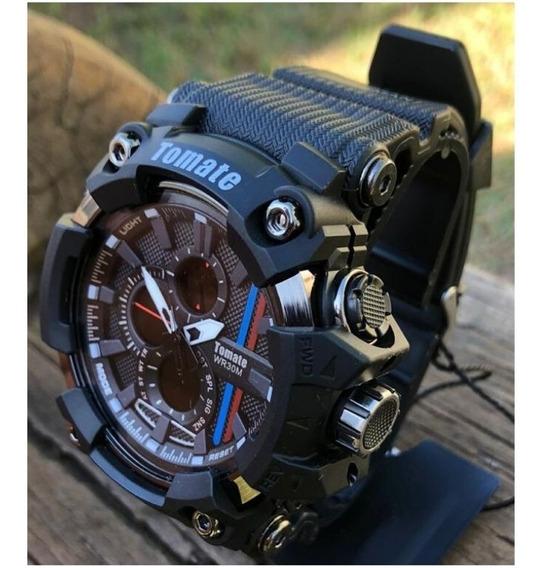 Relógio Tomate Masculino Mtx Esportivo A Prova D